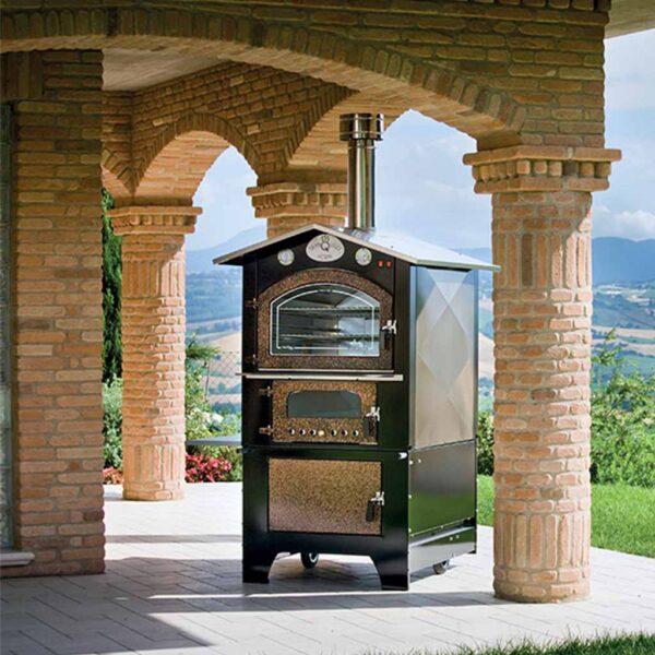 Forno da esterno giove ktm 8065 mondo garden - Forni elettrici da esterno ...