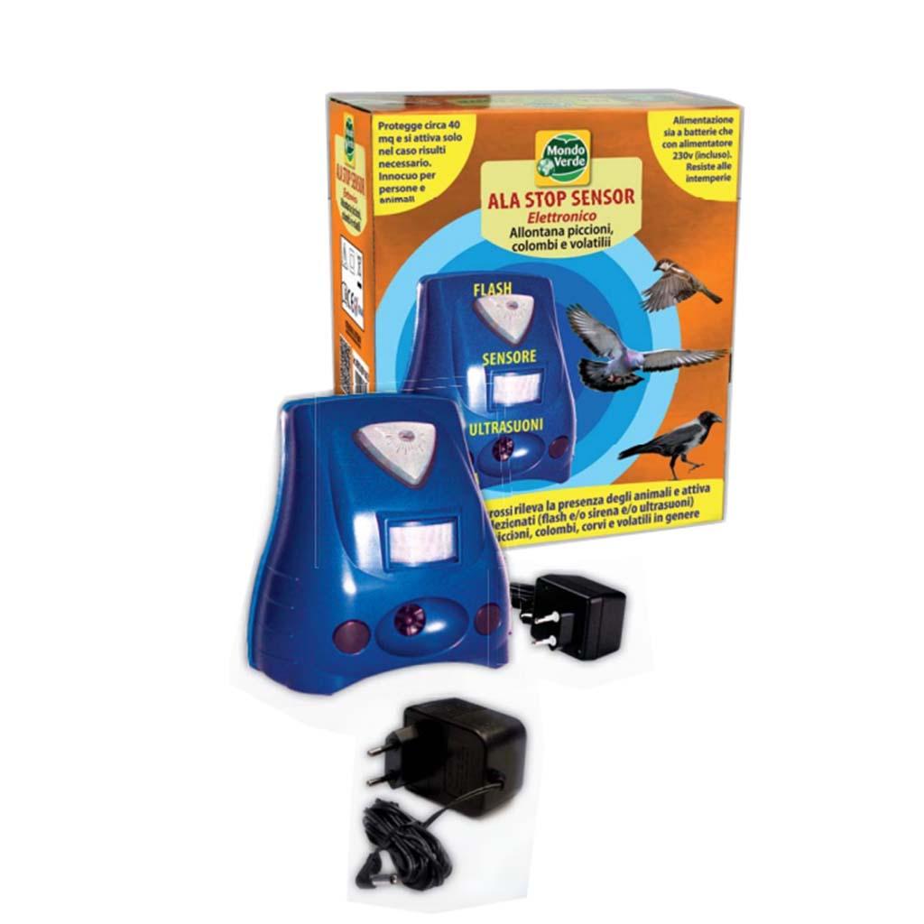 Schema Elettrico Dissuasore Per Piccioni : Dissuasore piccioni e volatili ala stop sensor elettronico