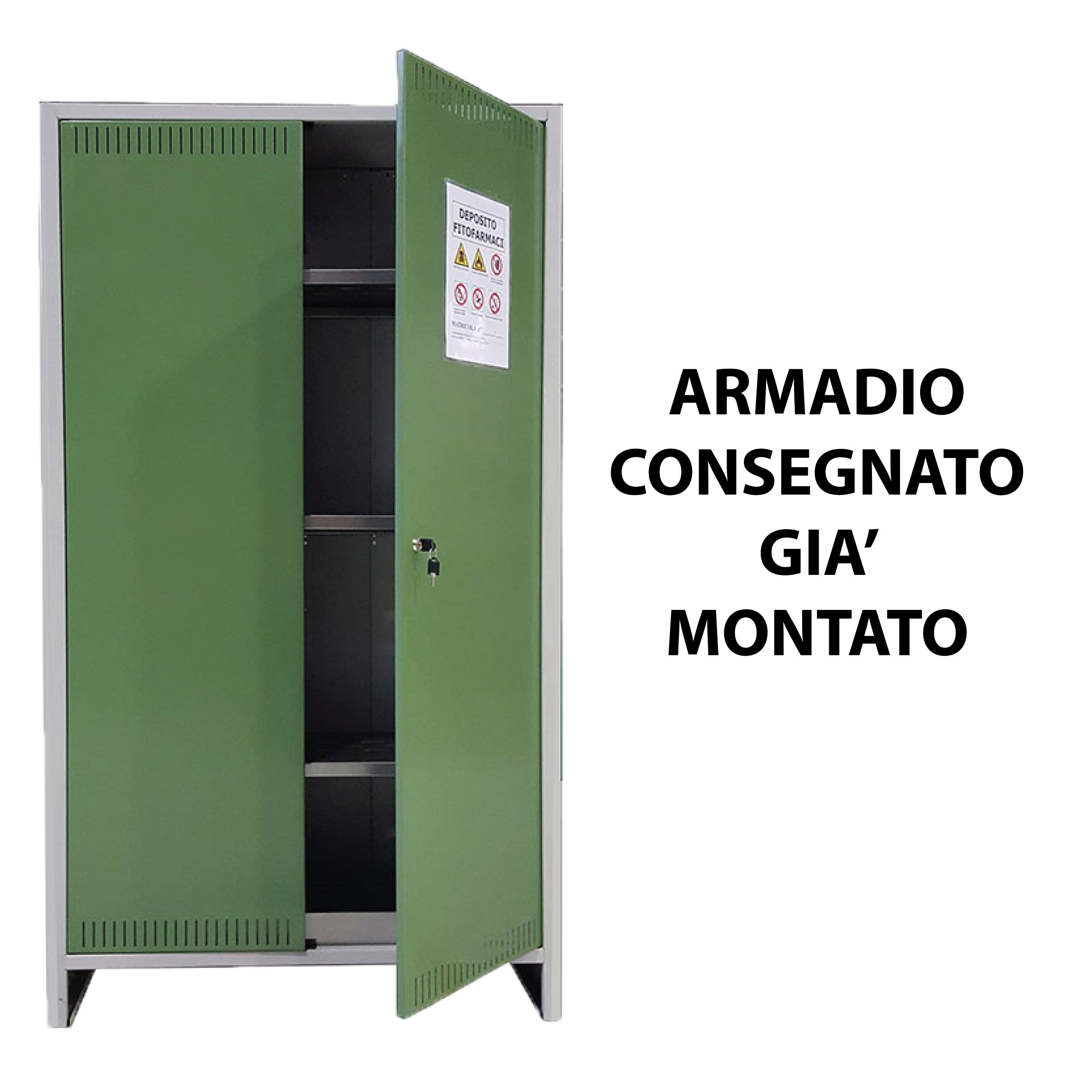 Armadio Per Prodotti Fitosanitari.Armadio Fitofarmaci Prometal Mondo Garden